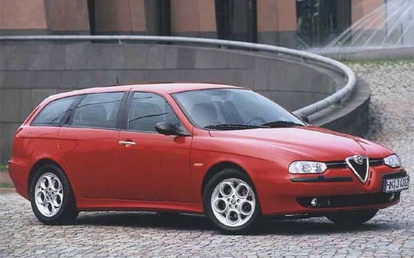 Фото Alfa Romeo 156 Sportwagon