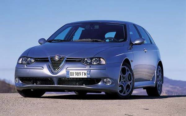 Фото Alfa Romeo 156 GTA Sportwagon