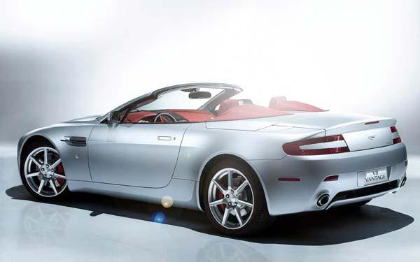 Фото Aston Martin V8 Vantage Roadster  (2007-2012)