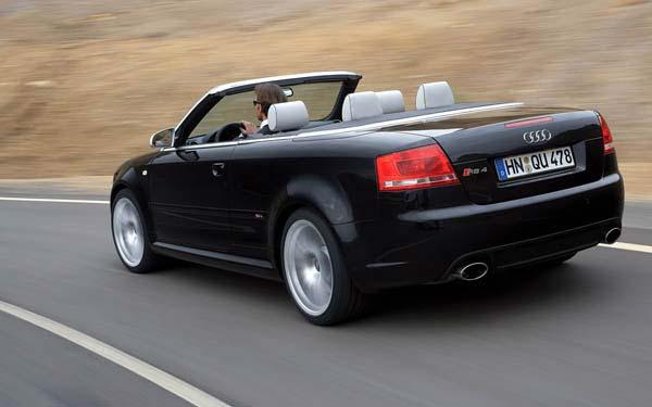 Фото Audi RS4 Cabrio  (2006-2008)