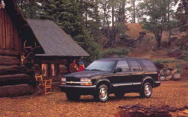 Фото Chevrolet Blazer  (1994-2001)