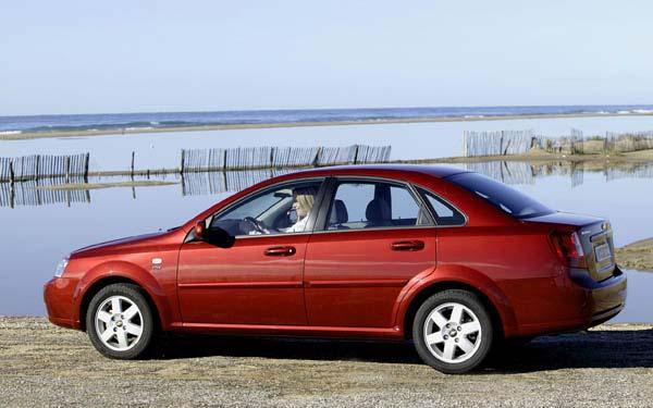 Фото Chevrolet Lacetti Sedan