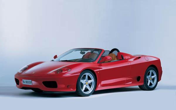 Фото Ferrari 360 Modena Spider
