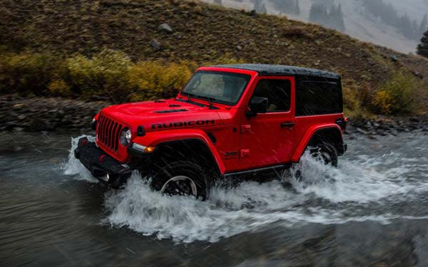 Фото Jeep Wrangler 2018