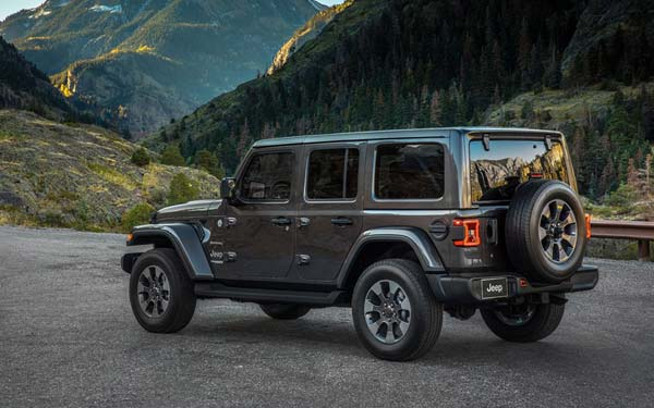 Фото Jeep Wrangler Unlimited 2018