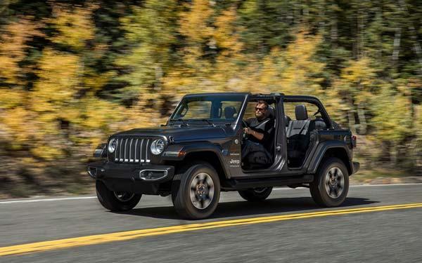Фото Jeep Wrangler Unlimited 2018