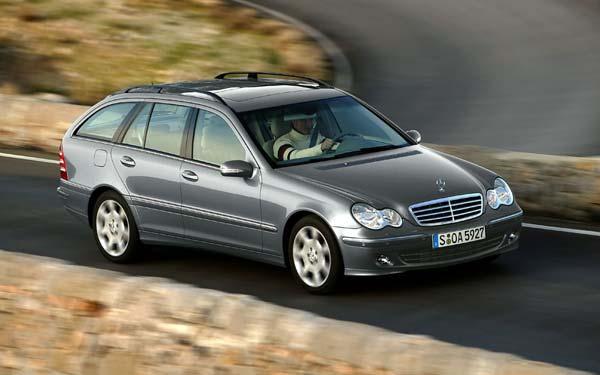 Фото Mercedes C-Class Touring  (2004-2007)