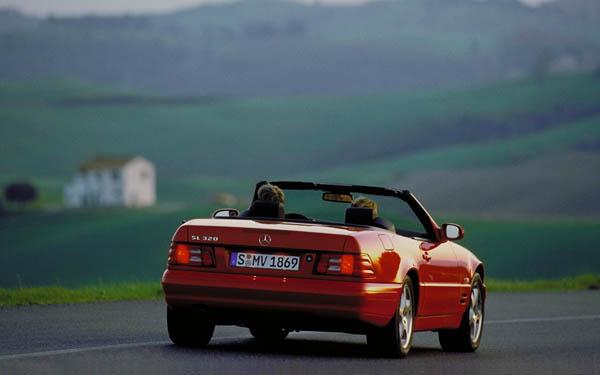 Фото Mercedes SL  (1989-2001)