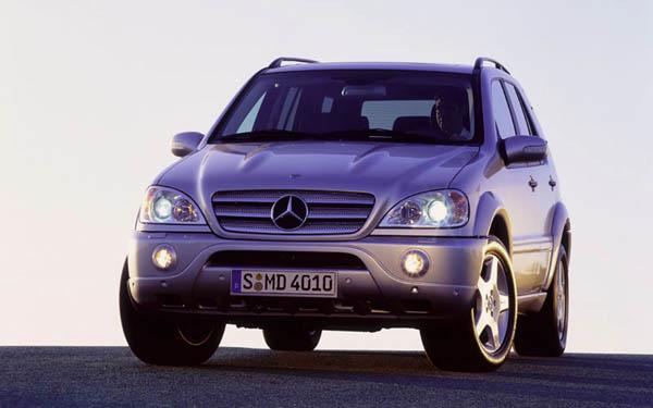 Фото Mercedes ML  (2001-2004)