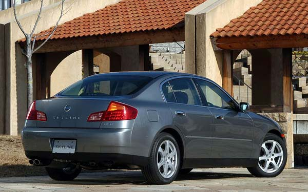 Фото Nissan Skyline  (2001-2006)