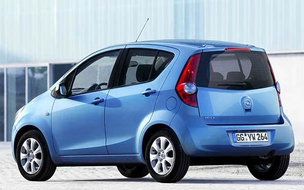 Фото Opel Agila
