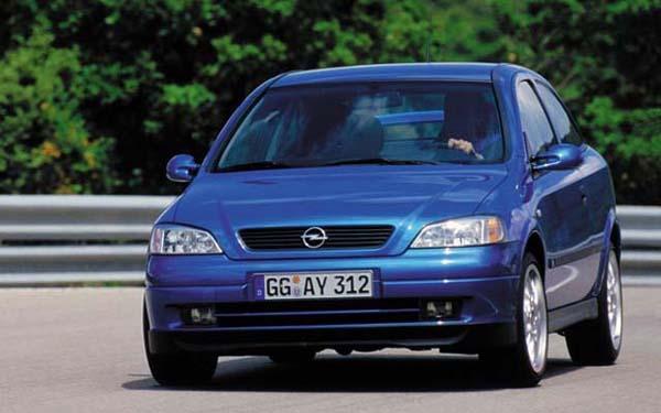 Список электрических схем Opel Astra 1998-2004 г.в