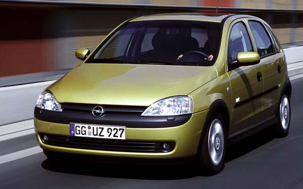 Фото Opel Corsa  (2000-2003)
