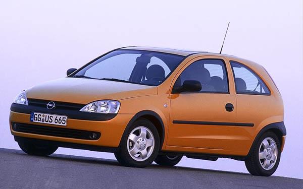 Фото Opel Corsa 3-Door  (2000-2003)