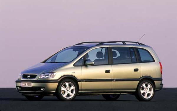 the gallery for opel zafira 2002. Black Bedroom Furniture Sets. Home Design Ideas