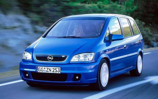 Фото Opel Zafira OPC  (2003-2005)