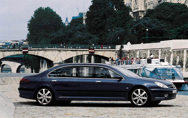 Фото Peugeot 607 Paladine