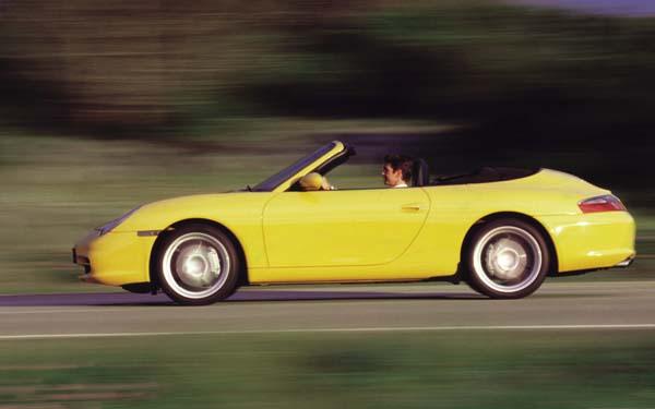 Фото Porsche 911 Cabrio  (1998-2004)