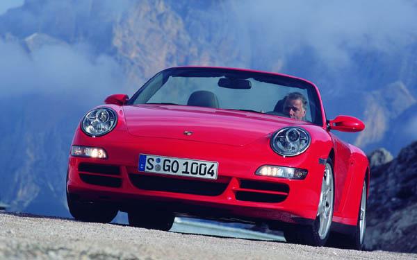 Фото Porsche 911 Cabrio  (2004-2008)