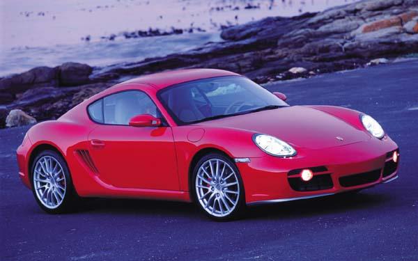 Фото Porsche Cayman  (2005-2008)
