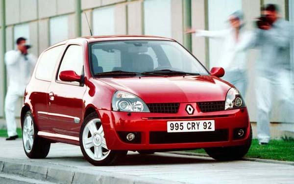 Фото Renault Clio  (2001-2005)