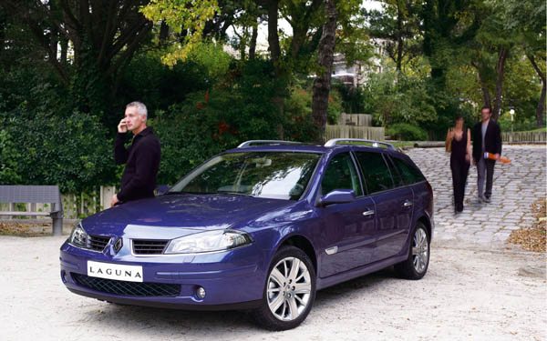 Фото Renault Laguna Estate  (2005-2007)