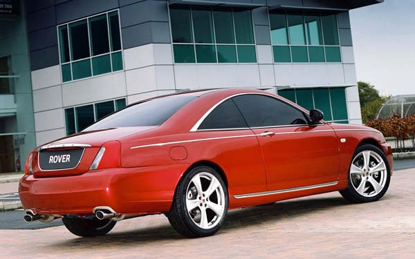 Фото Rover 75 Coupe Concept