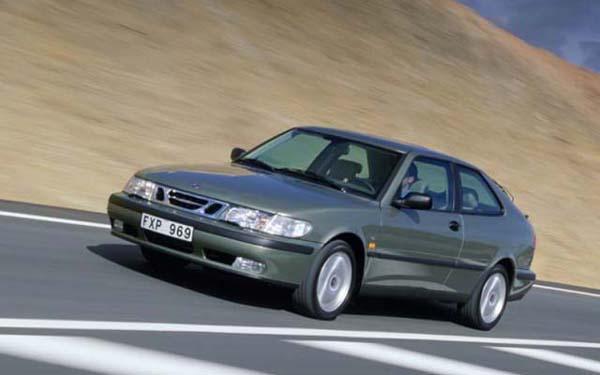 Фото SAAB 9-3 Coupe  (1998-2001)