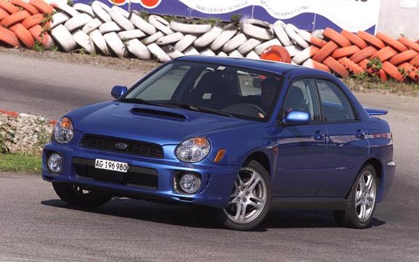 Фото Subaru Impreza  (2000-2002)