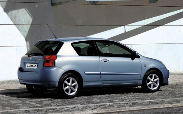 Фото Toyota Corolla Hatchback  (2002-2004)