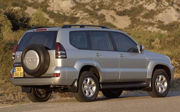 Фото Toyota Land Cruiser Prado  (2003-2009)