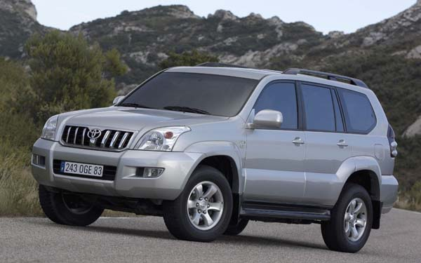 Фото Toyota Land Cruiser Prado  (2003-2009)