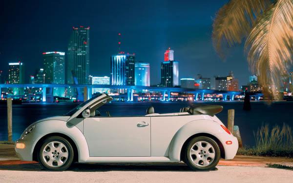 Фото Volkswagen Beetle Convertible  (1998-2011)