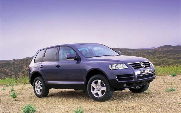 Фото Volkswagen Touareg  (2002-2006)